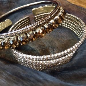 Sparkly Bracelets for Layering
